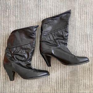 Vintage Frye short heeled boots 6.5